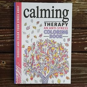 Calming Therapy Anti-Stess Coloring Book